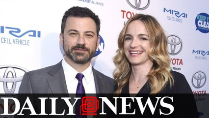 Jimmy Kimmel and wife Molly 'didn't want to get too close' to son