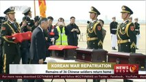 South Korea returns remains of Chinese soldiers killed during Korean War