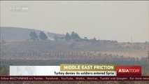 Turkey denies its soldiers entered Syria