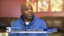 Couple, 7-Year-Old Granddaughter Duck as Bullets Fly into Home
