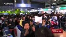 First China-made driverless trains run in Hong Kong