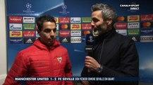 Ligue des Champions Manchester Utd Vs Seville : La réaction de Ben Yedder