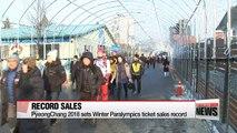 PyeongChang 2018 sets Winter Paralympics ticket sales record