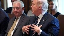 Trump fires Secretary of State Rex Tillerson