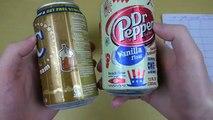 Vanilla Drink Battle [Cream Soda   Colas   Gourmet Soda]