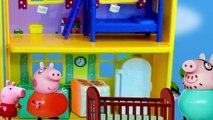 Mamae PIG fica gravida do George e a PEPPA fica com ciumes. Portugues Brasil