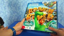 The Good Dinosaur ROARING RAPIDS BOARD GAME Review ft The Good Dinosaur Arlo and T-rex by Toy Rap
