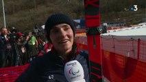 """Slalom Géant Femmes / Bochet : """"L'Allemand est venue me mettre la pression"""" - Jeux Paralympiques"""