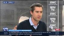 """François Ruffin: """"Il faut revaloriser le travail subtil [...] avec une rémunération minimale, des garanties d'embauche"""""""