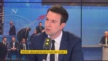 """Front national : """"Que le FN change de nom en """"Rassemblement national"""" c'est un peu comme si le parti communiste s'appelait """"le grand parti de la démocratie et de la liberté"""", explique Guillaume Peltier #8h30politique"""