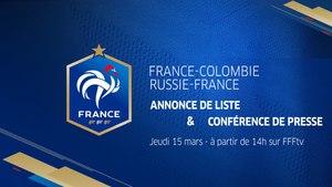 Jeudi, Équipe de France : annonce de liste et conférence de presse de Didier Deschamps (14h00)