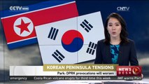 Park: DPRK provocations will worsen