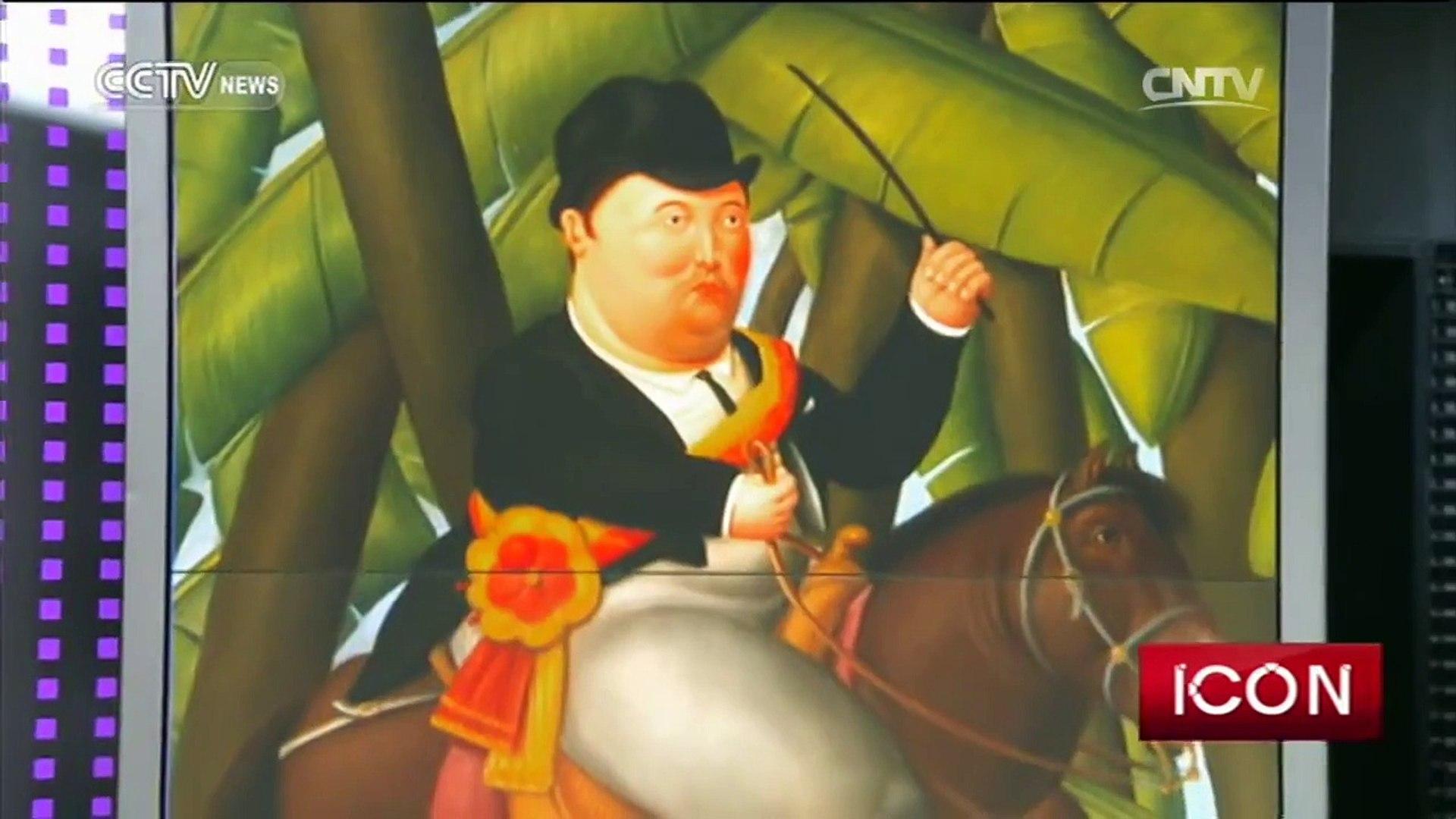 Icon— Fernando Botero, artist 08/13/2016