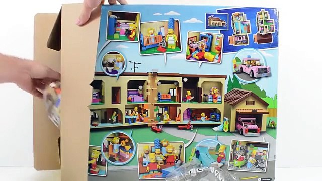 LEGO Simpsons - A Casa dos Simpsons em Portugues Completo - The Simpsons House Time Lapse