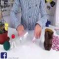 Tuto recyclage   faç intelligente de ré vos bouteilles plastique