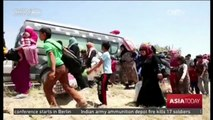 Displaced Iraqi Residents: Civilians flee Fallujah as fighting spreads