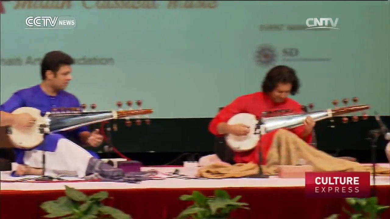 Indian Classical Music In Shanghai: 19-stringed Sarod premieres at Center Theater