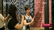 """The Art Of Printing And Dyeing: """"Nantong Blue Calico Art"""" exhibition in Beijing"""