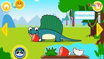 Mundo Jurásico - Niños a aprender acerca de los dinosaurios - Panda del Bebé juegos para niños