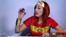 WONDER WOMAN Surprise Toys with Batgirl Dorbz and Robin, Justice League Toys DC Toys Collector
