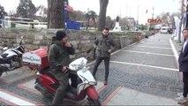 Edirne Atatürk Anıtı Önünde Şüpheli Kutu Alarmı