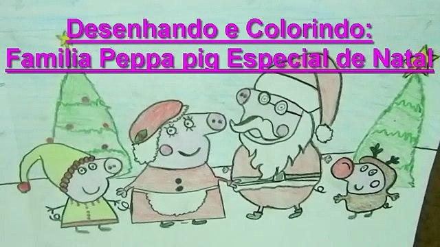 Desenhos Peppa pig Português com Show da Luna e Turma da Mônica Desenhos de Natal new