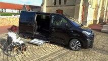 Lenoir handi concept - Citroën space Tourer - Transfert de personne à mobilité réduite