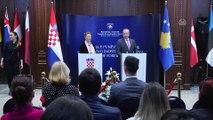 Hırvatistan Dışişleri Bakanı Buric Kosova'da - PRİŞTİNE