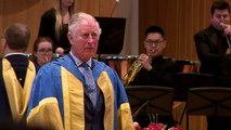 Prince Charles presents awards to Royal College musicians