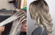 Balayage Tutorial - How to balayage hair - Hair color technique