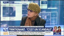 """Tous les concerts de Bertrand Cantat me choquent"", a déclaré Nadine Trintignant, la mère de Marie Trintignant"