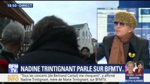 Nadine Trintignant réagit aux coups reçus par Bertrand Cantat