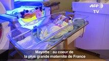 Mayotte: au coeur de la plus grande maternité de France