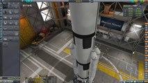 KSP Asteroid Landing Day (Tutorial:41) Kerbal Space Program 1.2 - Stock Parts