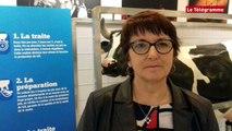 Producteurs de lait Christiane Lambert à Vannes au congrès national