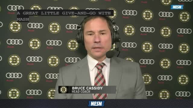 Bruins Overtime Live: Bruce Cassidy Impressed With Bruins' 3rd Period Comeback Grit