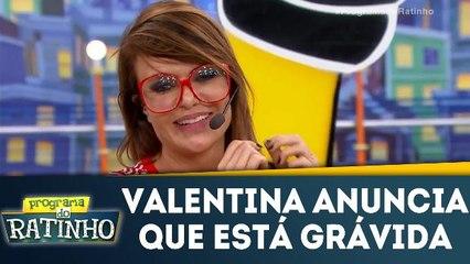 Valentina anuncia que está grávida
