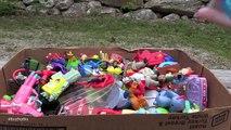 Whats Inside the Yard Sale Mystery Box of Fast Food Toys!? Disney, Pokemon & More!   Bins Toy Bin
