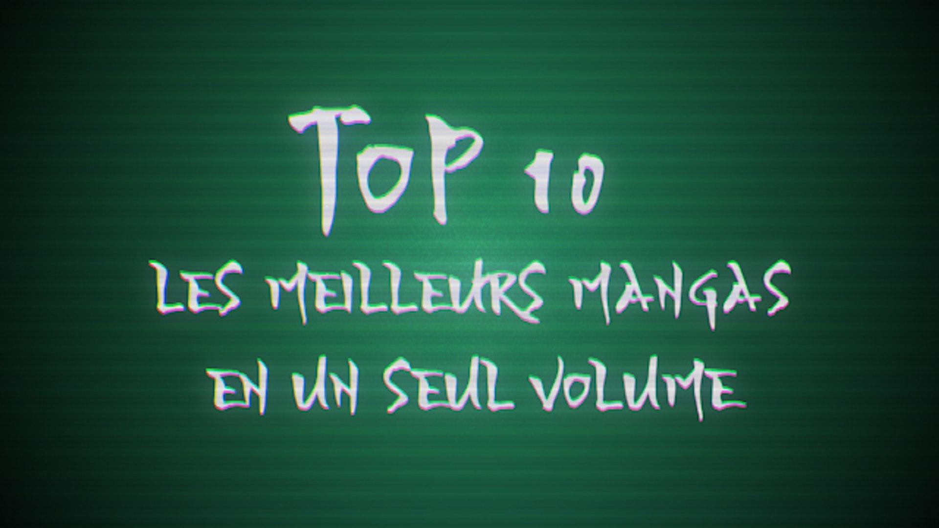 Top 10 : Les meilleurs mangas en un volume