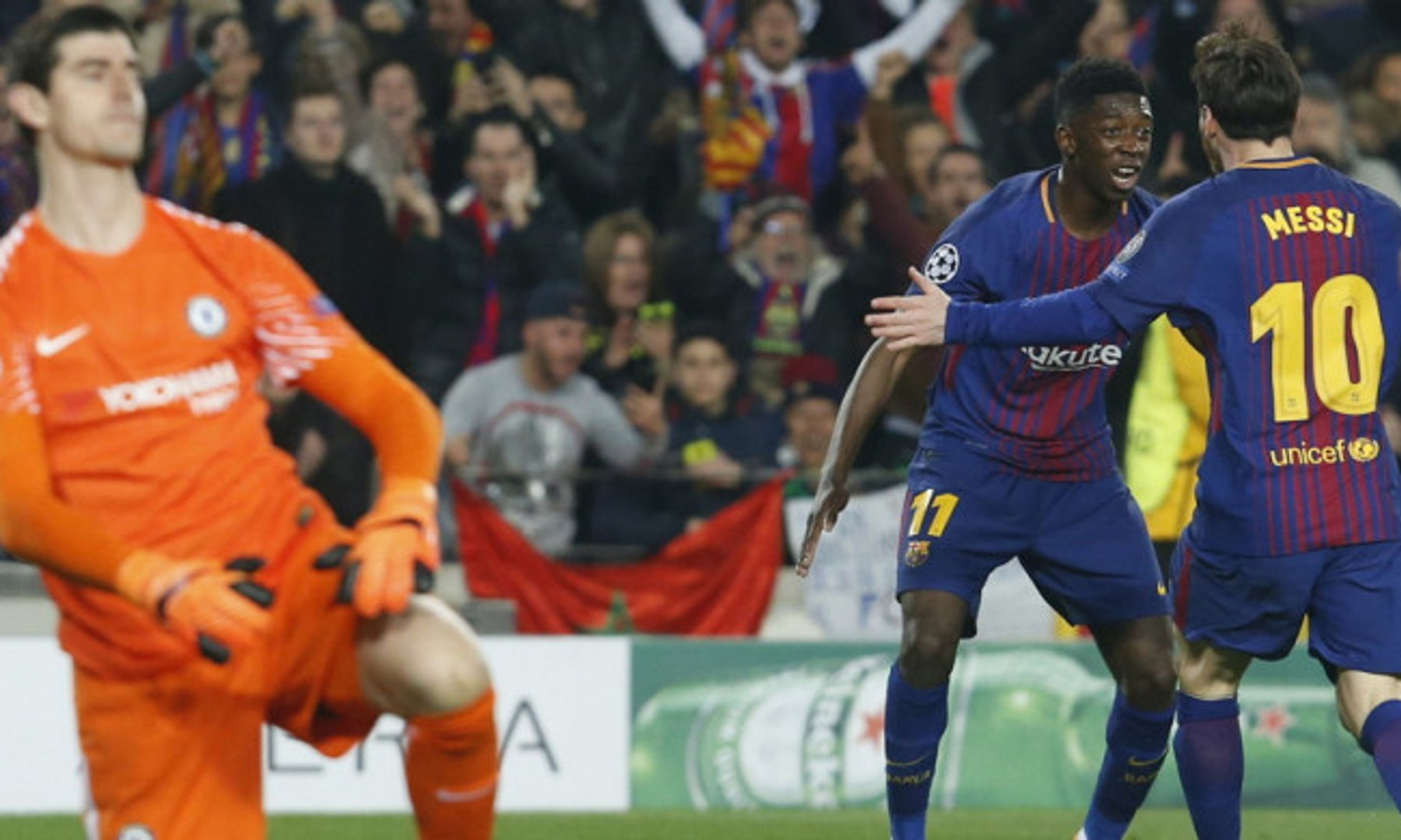 Barcelona Ke Perempat Final Seusai Kalahkan Chelsea 3-0