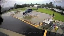 Un hélicoptère de police percute un autre hélicoptère à l'atterrissage