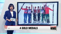 Slovakia's Henrieta Farkasova wins four gold medals at PyeongChang Paralympics