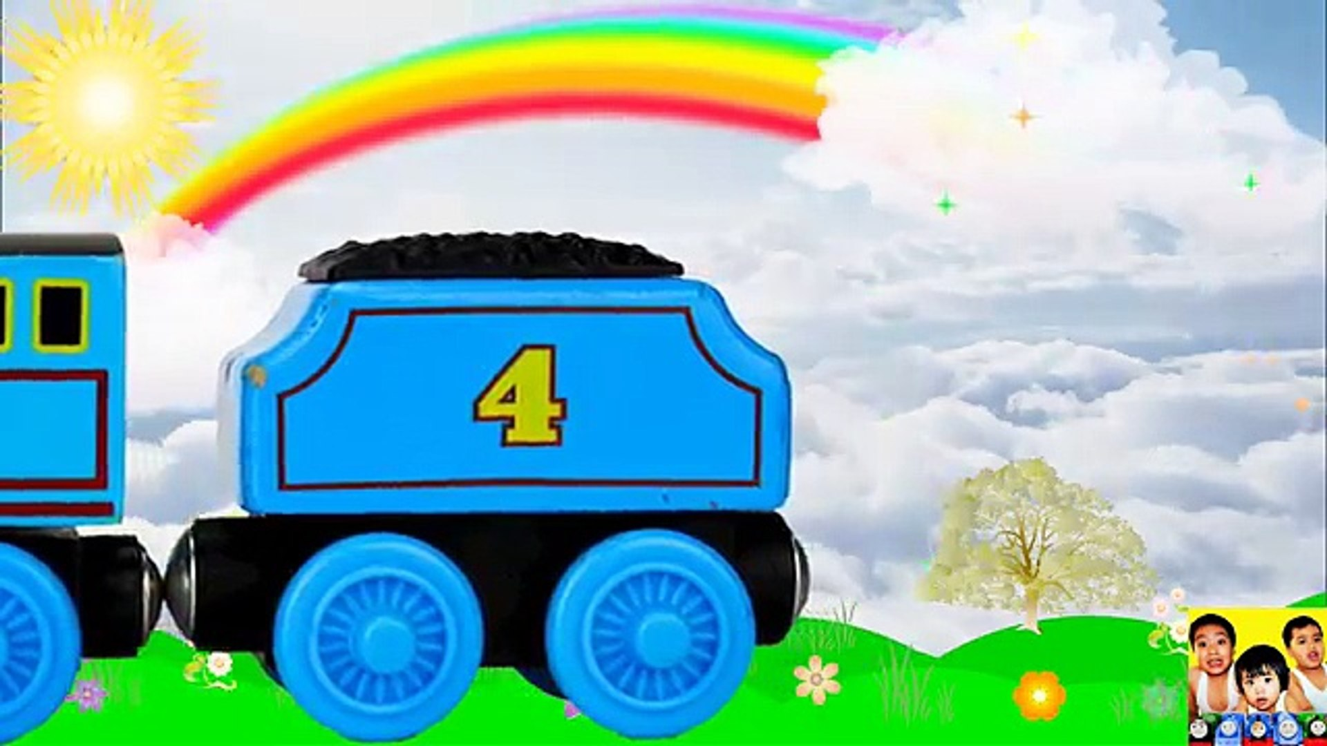 Learn ABC letters with Thomas and Friends Toy Trains, ABC Thomas|Best Learning Video for Kids