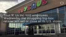 Toys R Us To Close All US Stores?