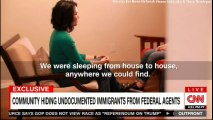 EXCLUSIVE:  Community hiding undocumented immigrants from federal agents.  #Immigrants #DonaldTrump #CNN #Breaking