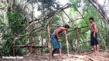 Primitive Technology Build grass house and hammock