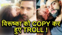 Virat Kohli - Anushka Sharma inspired photo gets Puneesh Sharma - Bandgi Kalra in TROUBLE |FilmiBeat