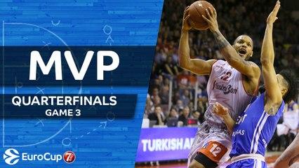 Quarterfinals Game 3 MVP: Chris Wright, Grissin Bon Reggio Emilia