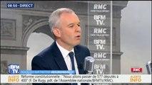 """François de Rugy: """"Pendant cinq ans, la gauche a été au pouvoir. Vous croyez que les impôts n'ont pas augmenté?"""""""