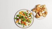 How to Make Ricotta with Clementines and Date Vinaigrette